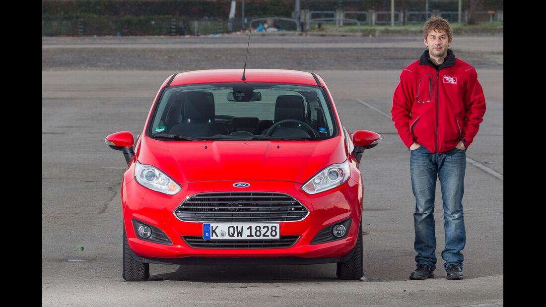 Ford Fiesta 1.0 Powershift Trend, Frontansicht