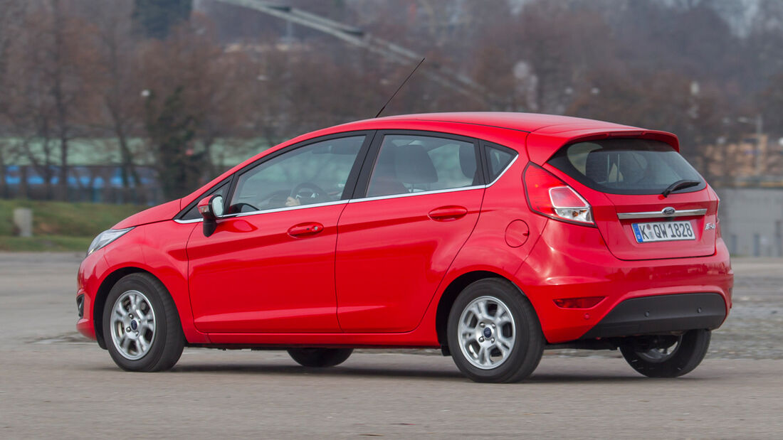 Ford Fiesta 1.0 Powershift Trend, Heckansicht