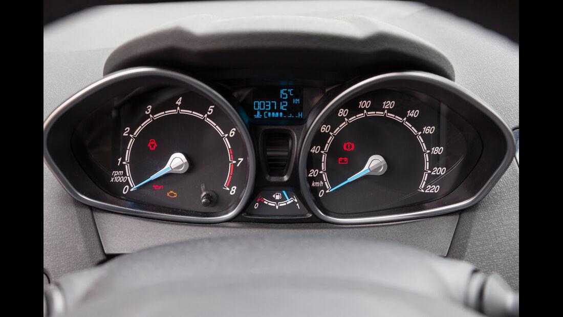 Ford Fiesta 1.0, Rundinstrumente