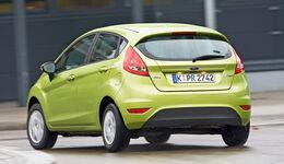 Ford Fiesta 1.3, Heckansicht