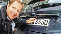 Ford Fiesta 1.4., Heck, Michael von Maydell