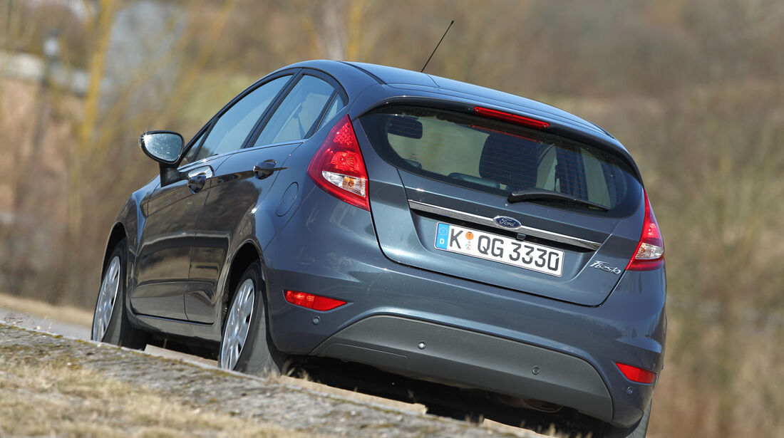 Ford Fiesta 1.4., Heck