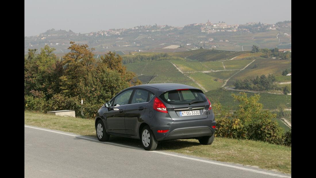 Ford Fiesta 1.4, Heckansicht