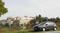 Ford Fiesta 1.4, Seitenansicht