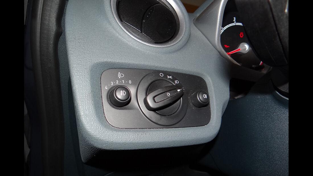 Ford Fiesta 1.4 im Innenraum-Check, Licht