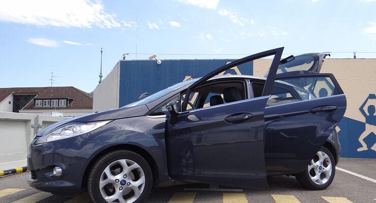Ford Fiesta 1.4 im Innenraum-Check, Seitenansicht