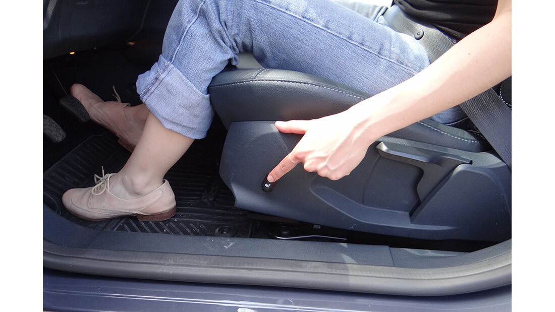 Ford Fiesta 1.4 im Innenraum-Check, Sitzheizung