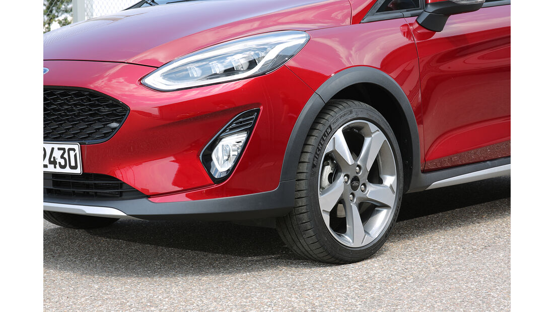 Ford Fiesta Active 1.0 Ecoboost, Exterieur