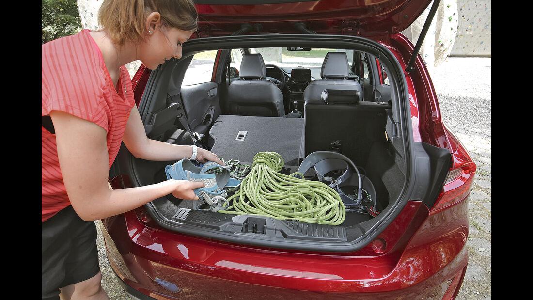 Ford Fiesta Active 1.0 Ecoboost, Kofferraum