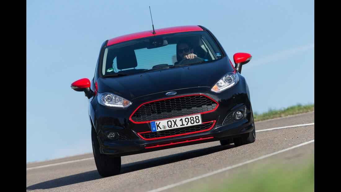 Ford Fiesta Black Edition, Frontansicht