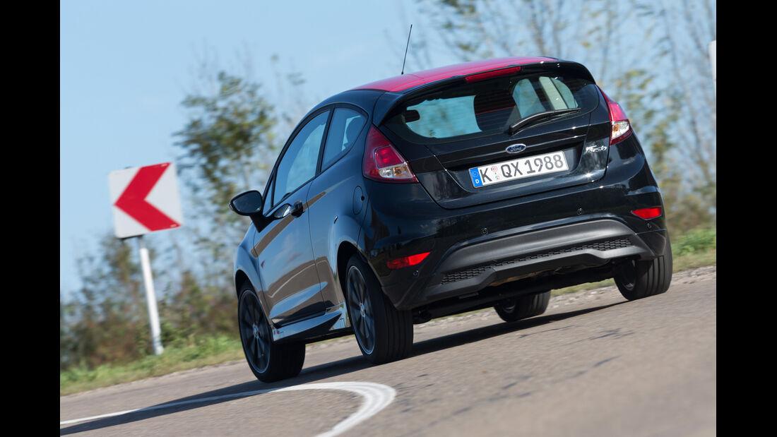 Ford Fiesta Black Edition, Heckansicht
