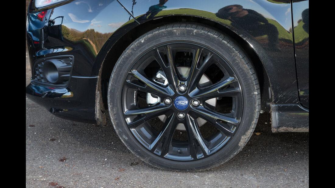 Ford Fiesta Black Edition, Rad, Felge