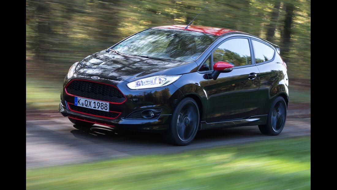 Ford Fiesta Black Edition, Seitenansicht