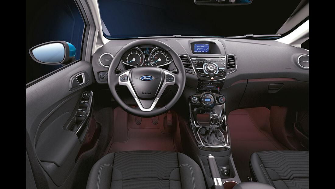 Ford Fiesta, Cockpit