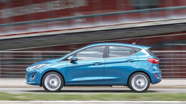 Ford Fiesta, Exterieur
