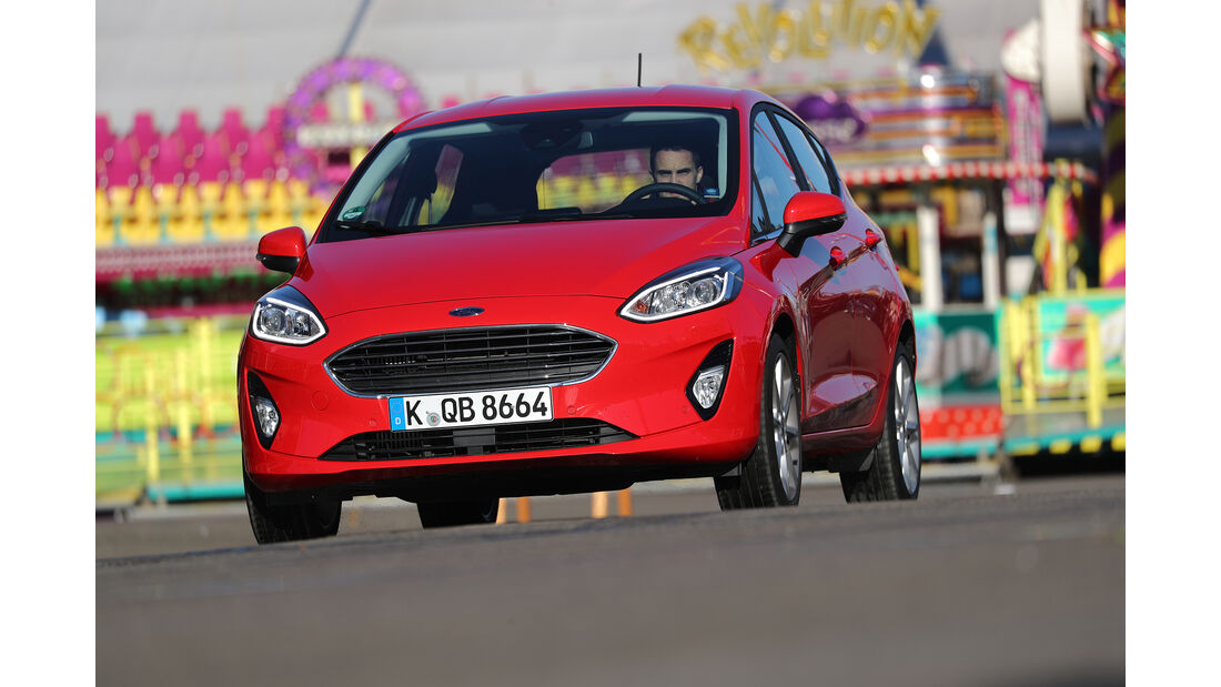 Ford Fiesta, Exterieur Front