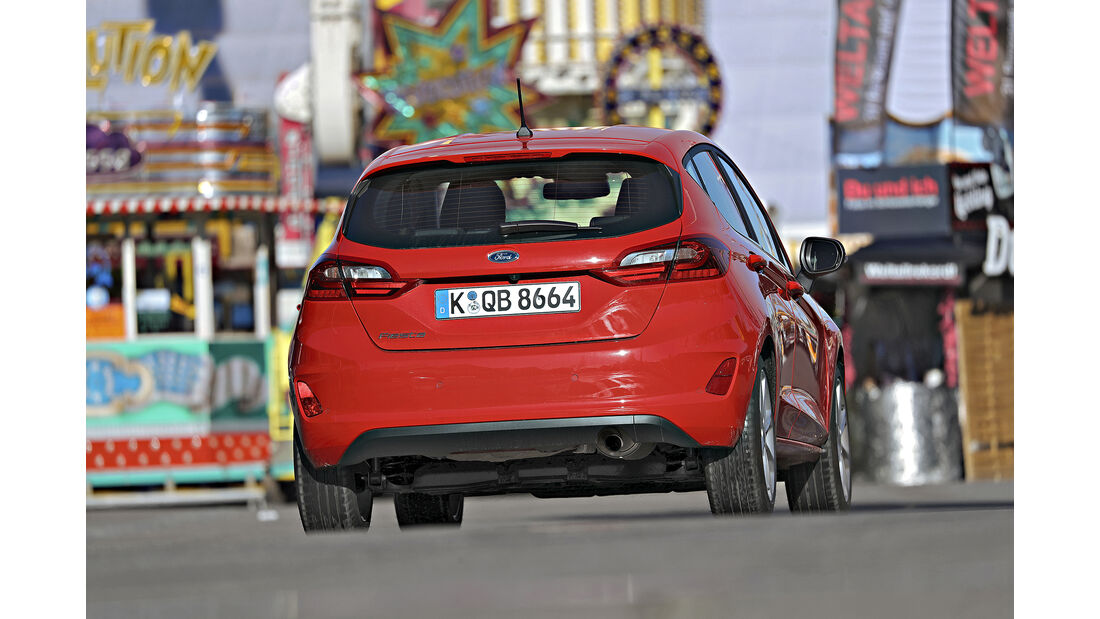 Ford Fiesta, Exterieur Heck