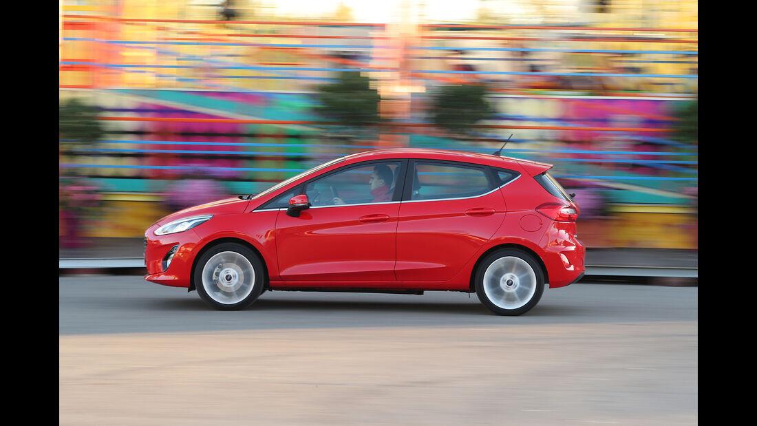 Ford Fiesta, Exterieur Seite