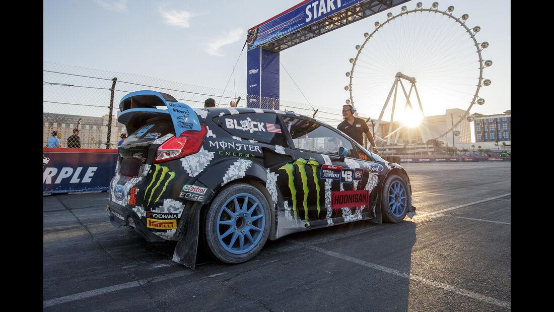 Ford Fiesta - Global RallyCross - Heckflügel