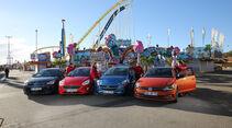 Ford Fiesta, Kia Rio, Opel Corsa, VW Polo, Exterieur Front