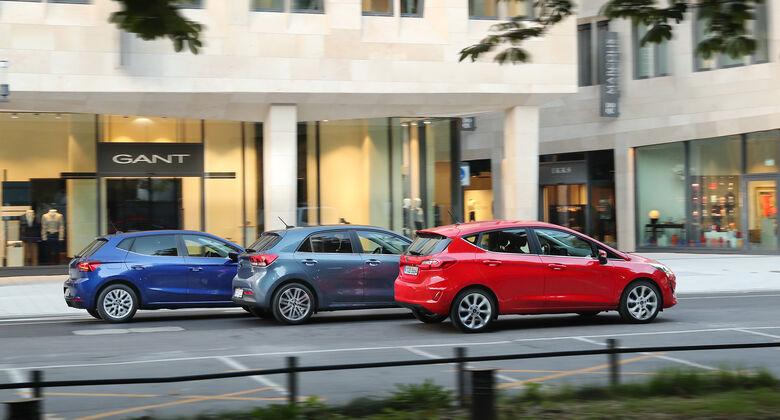 Ford Fiesta, Kia Rio, Seat Ibiza