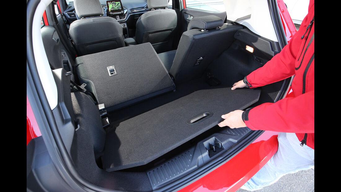 Ford Fiesta, Kofferraum