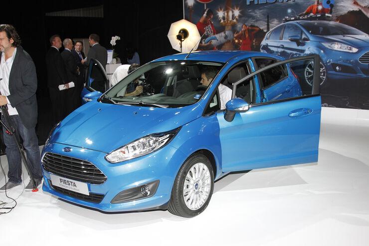 Ford Fiesta, Messe, Autosalon Paris 2012