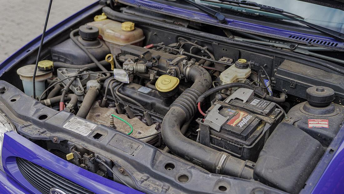 Ford Fiesta Mk 4 (1995-2001), Motor