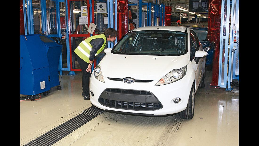 Ford Fiesta, Produktion