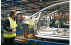 Ford Fiesta, Produktion, Karosserie, Fertigungsband