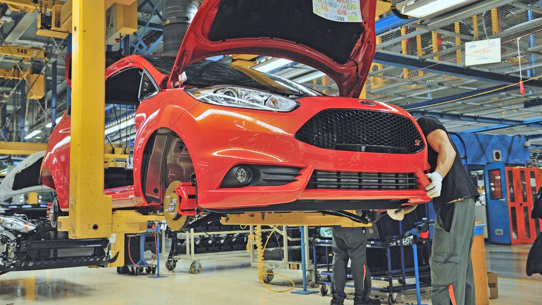 Ford Fiesta Produktion Köln