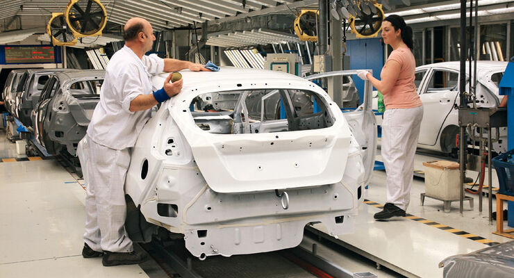 Ford Fiesta, Produktion, Primer, Basislack