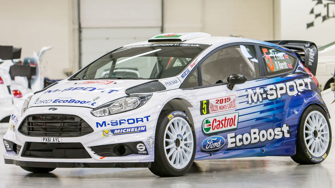 Ford Fiesta RS WRC 2015
