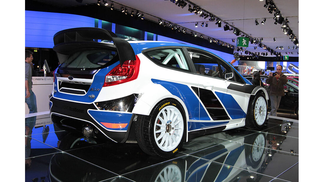 Ford Fiesta RS WRC Paris 2010