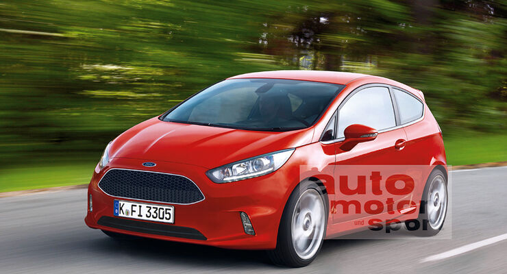 Ford Fiesta Retusche