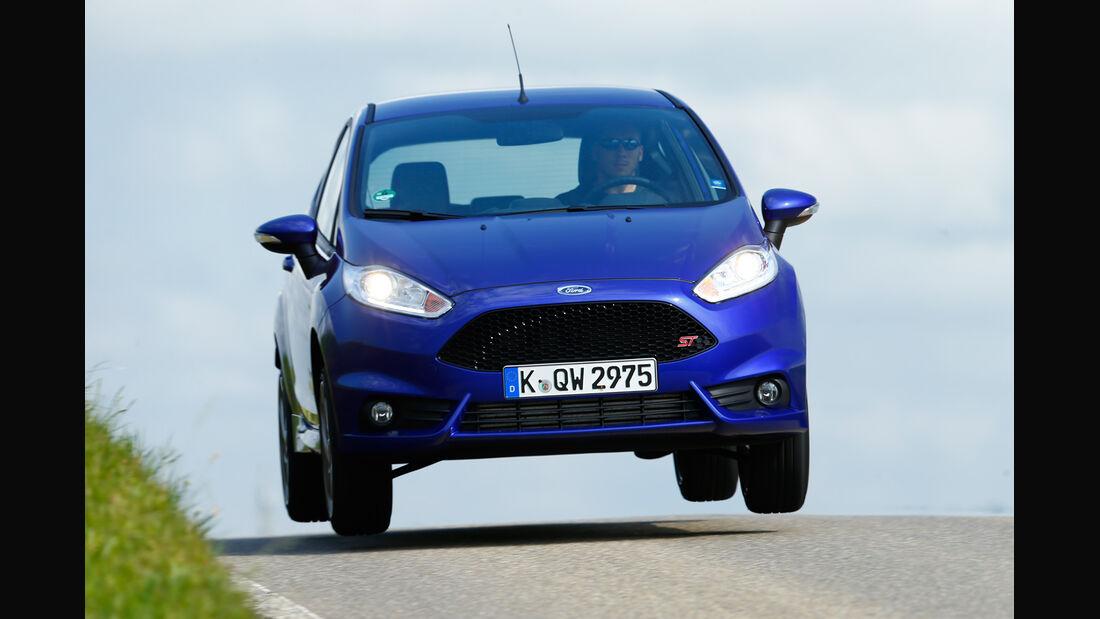Ford Fiesta ST, Frontansicht, Sprung
