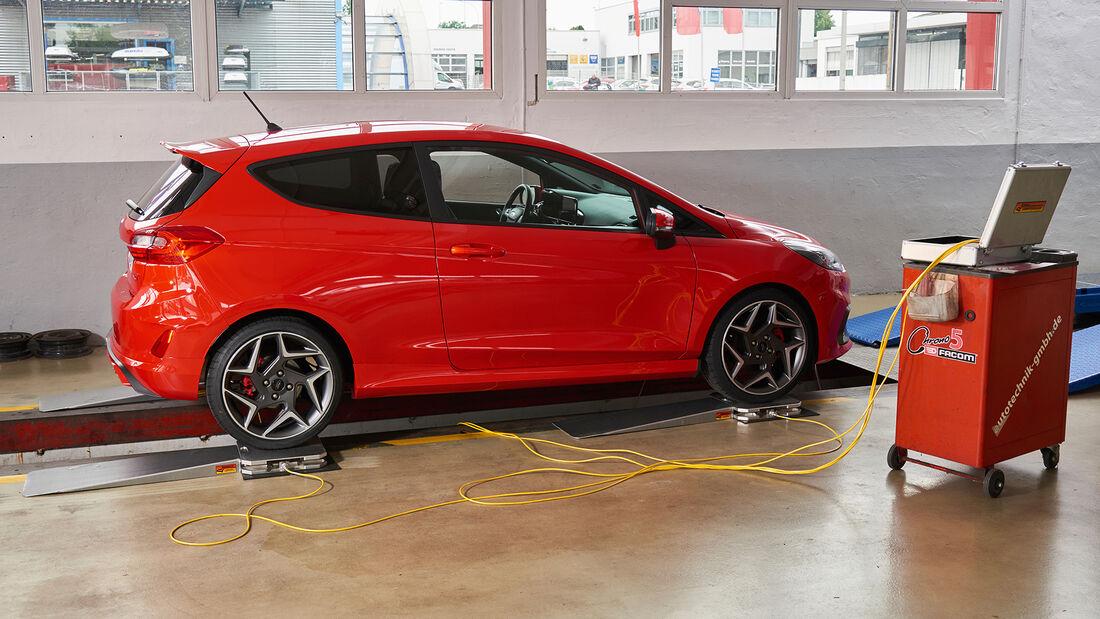 Ford Fiesta ST, Leistungsmessung