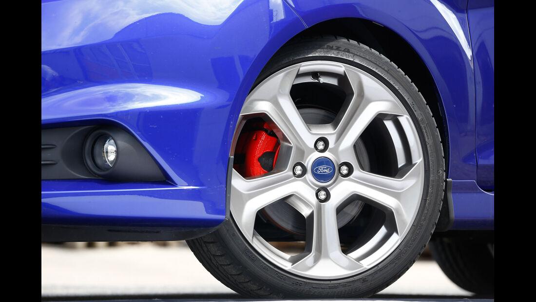 Ford Fiesta ST, Rad, Felge, Bremse