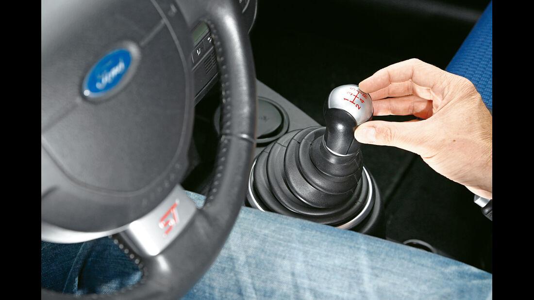 Ford Fiesta ST, Schalthebel