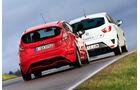 Ford Fiesta ST, Seat Ibiza Cupra, Heckansicht