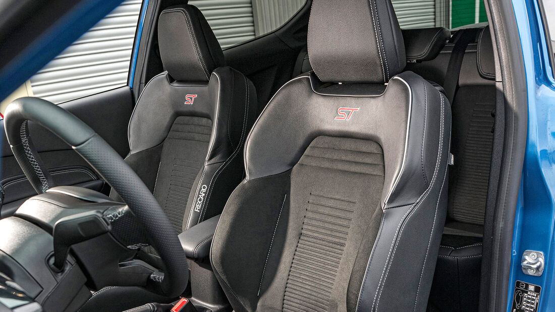 Ford Fiesta ST, Sitz