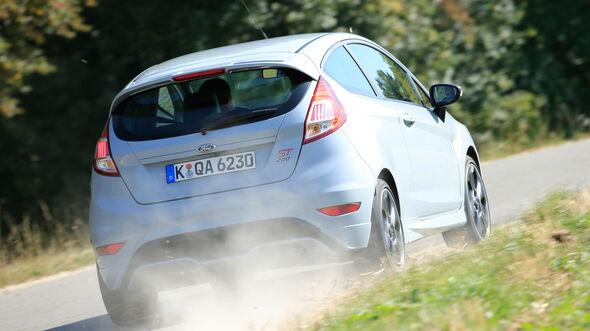 Ford Fiesta ST200, Heckansicht
