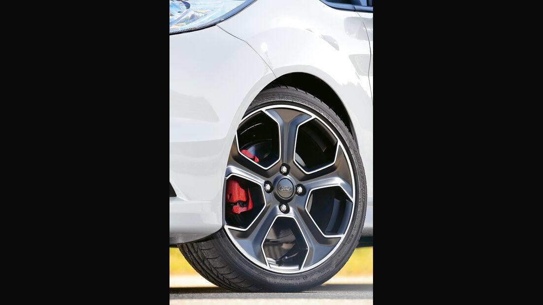 Ford Fiesta ST200, Rad, Felge