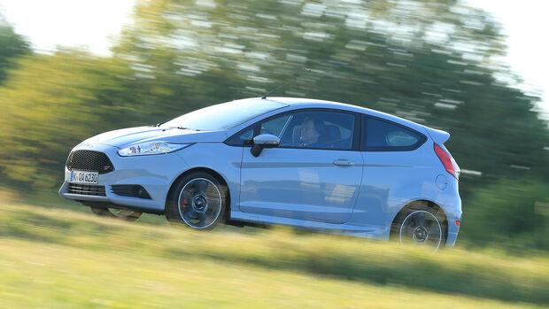 Ford Fiesta ST200, Seitenansicht