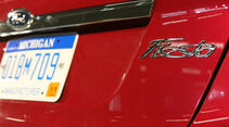 Ford Fiesta, Schriftzug