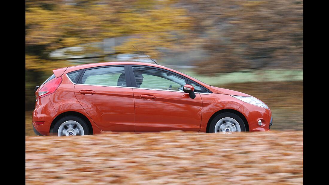 Ford Fiesta Seitenansicht