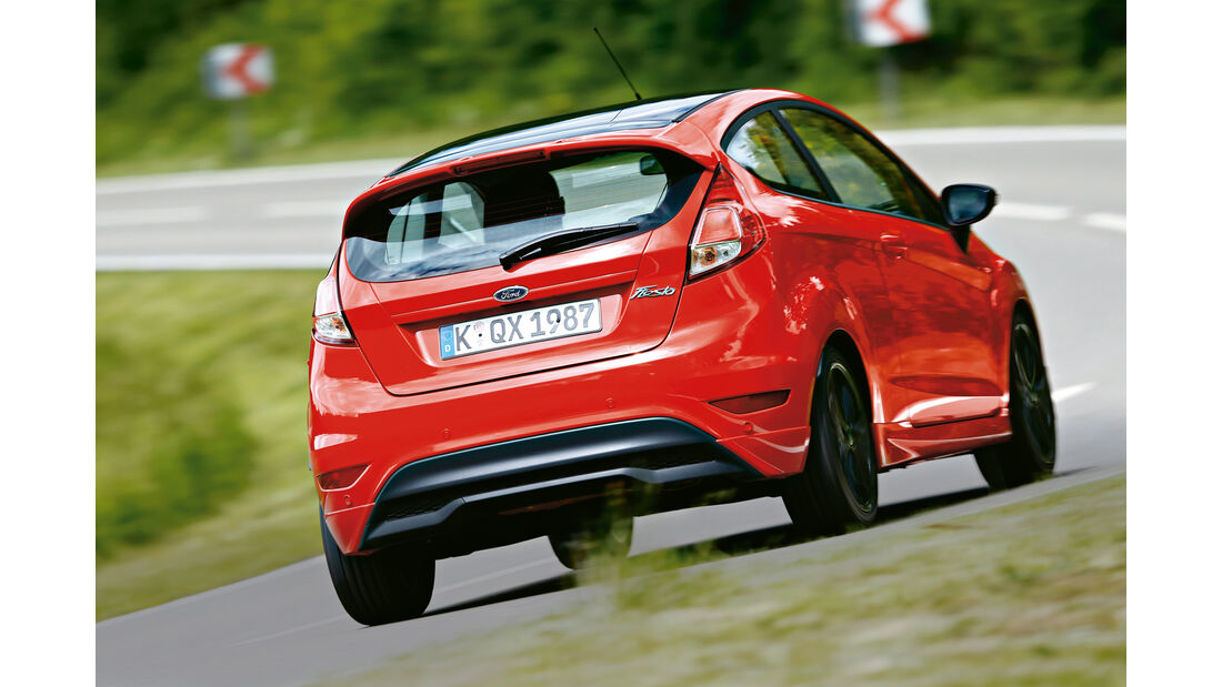 Ford Fiesta Sport, Heckansicht