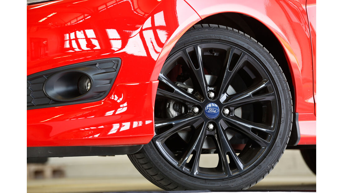Ford Fiesta Sport, Rad, Felge