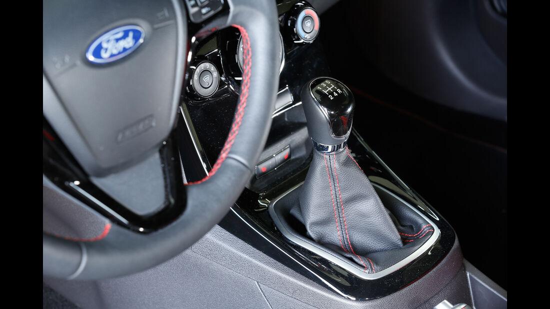 Ford Fiesta Sport, Schalthebel