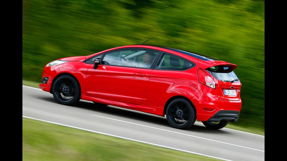 Ford Fiesta Sport, Seitenansicht